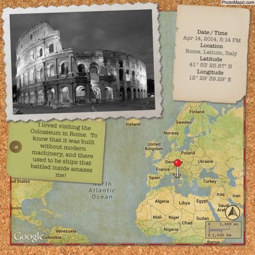 Sample image created with Photo Mapo app