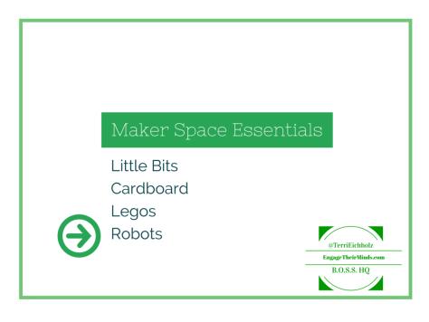 Maker Space Essentials - Robots