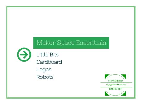 Maker Space Essentials
