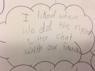 Our mystery twitter chats were a big hit!