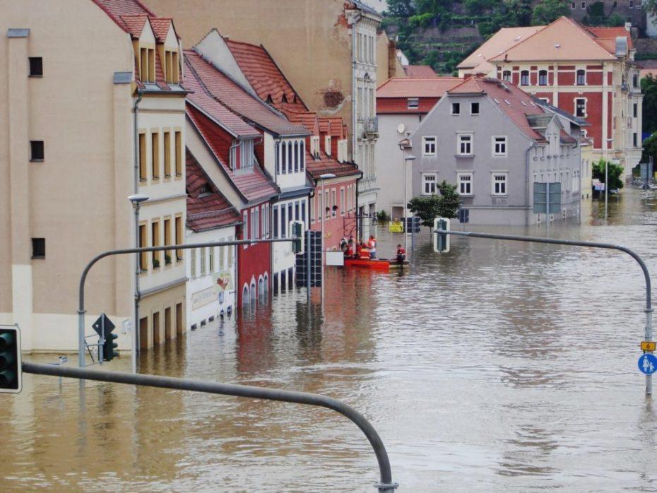 flooding high water