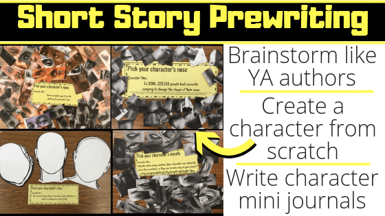 Short Story Prewriting Activities – Engaging and Effective