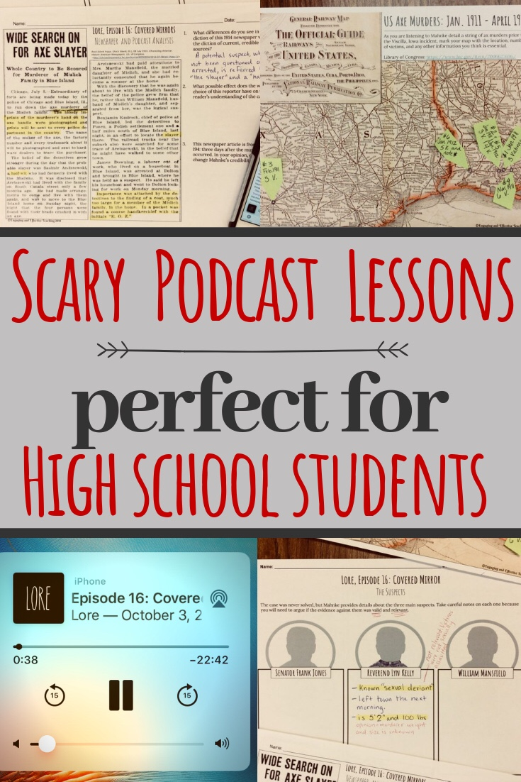 Scary Podcasts for High School Students – Engaging and Effective