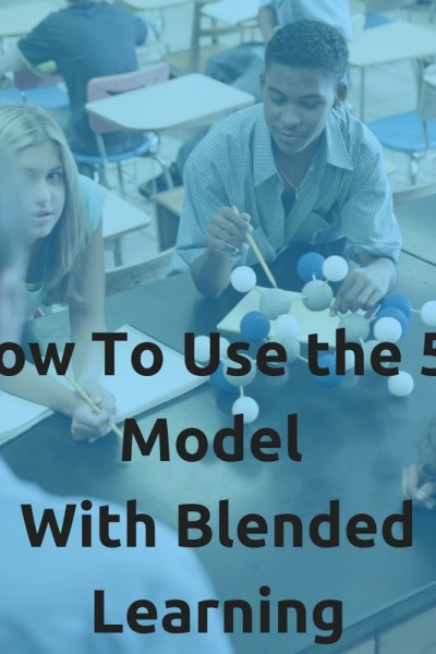 5E Model with Blended Learning