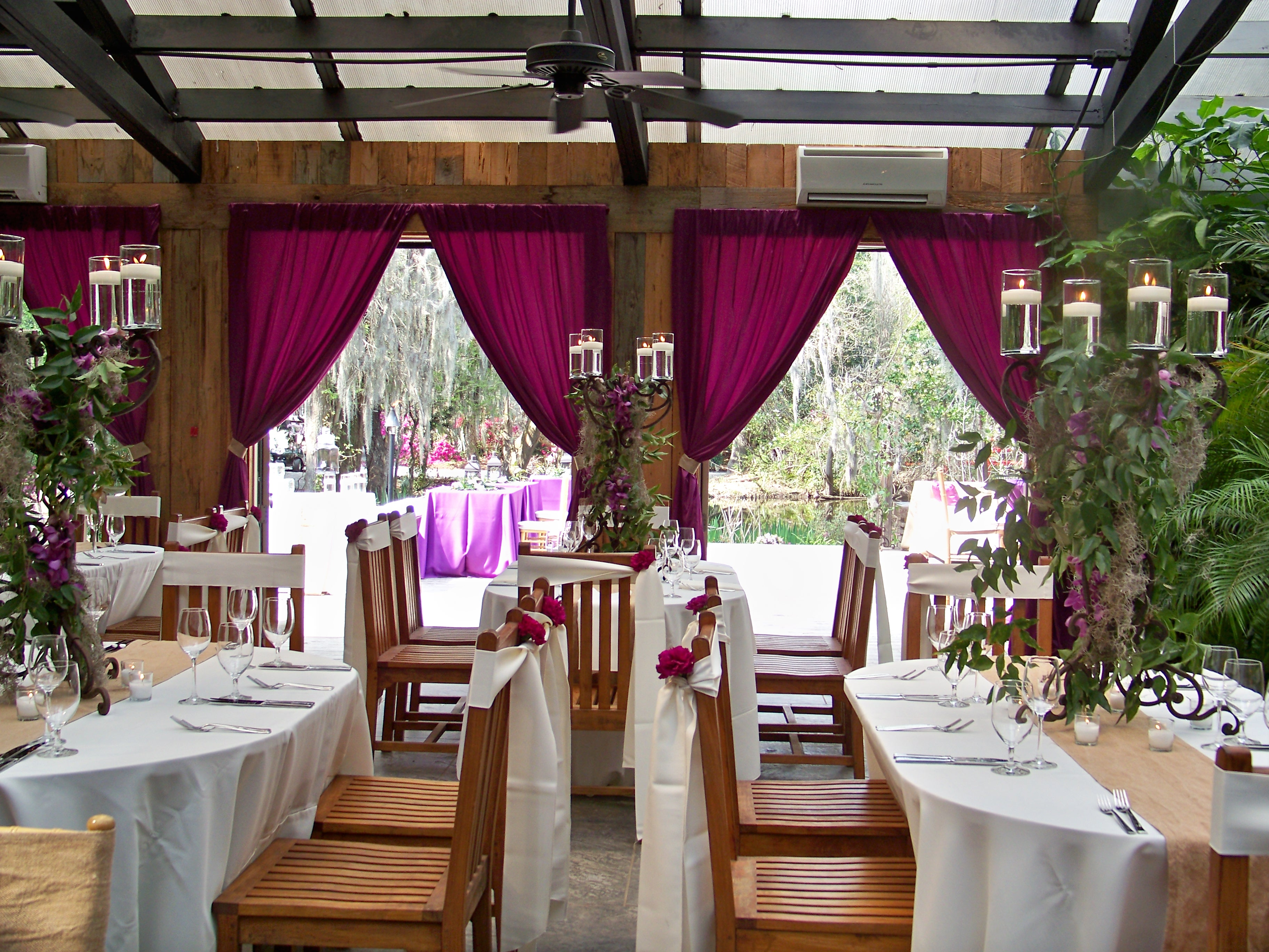 Conservatory at Magnolia Plantation Engaging Events