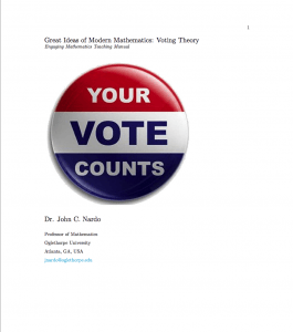 Great Ideas of Modern Mathematics: Voting Theory