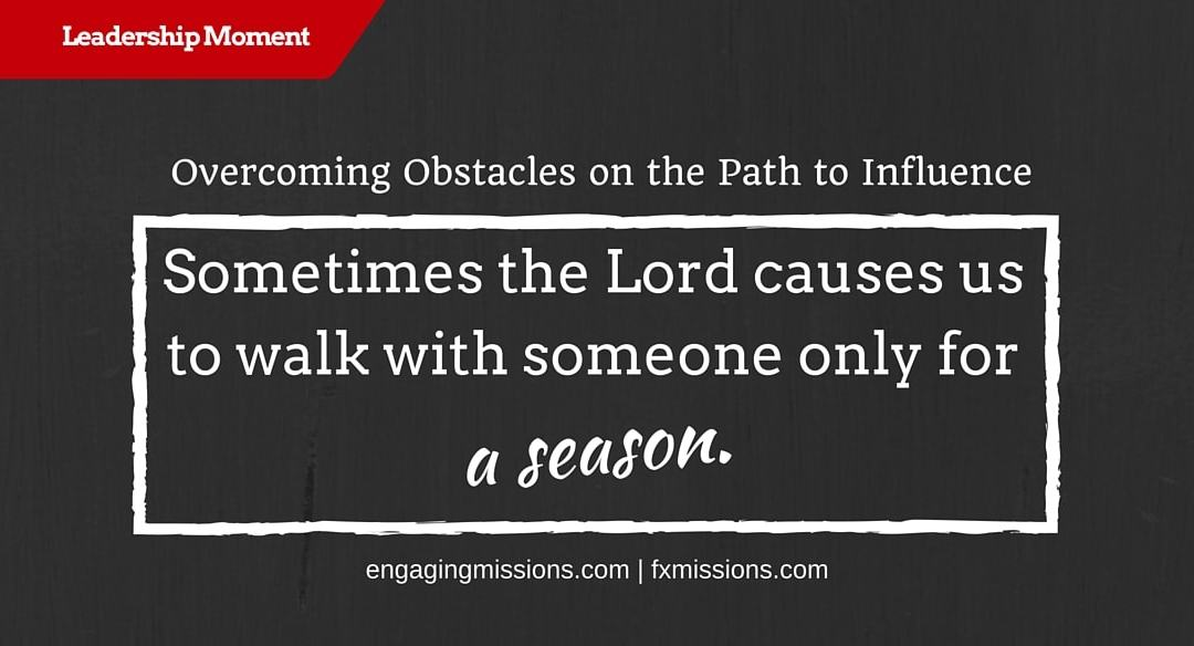 Overcoming Obstacles On The Path To Leadership – Foundational Missions Leadership Moment # 49