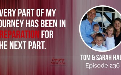 How to Impact Communities with the Good News, with Tom & Sarah Hall – EM236