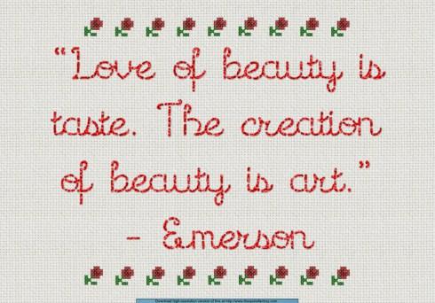 Love of Beauty Sampler