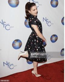 kicking up her heels