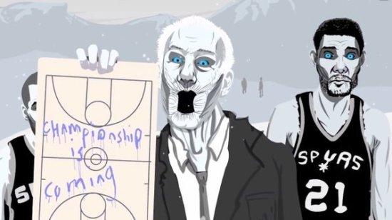Todos quieren trabajar en los San Antonio Spurs
