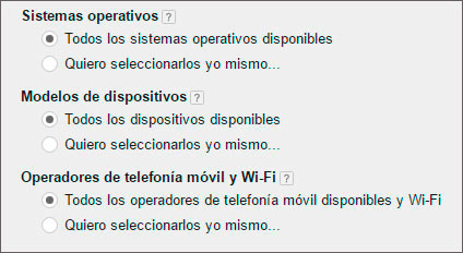 Adwords Telefonia movil con wifi
