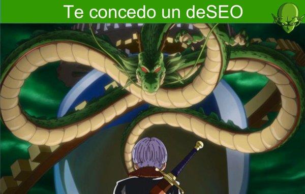 Pide un consultor SEO al Dragon Shenron