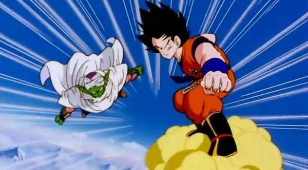 Goku y Piccolo al rescate