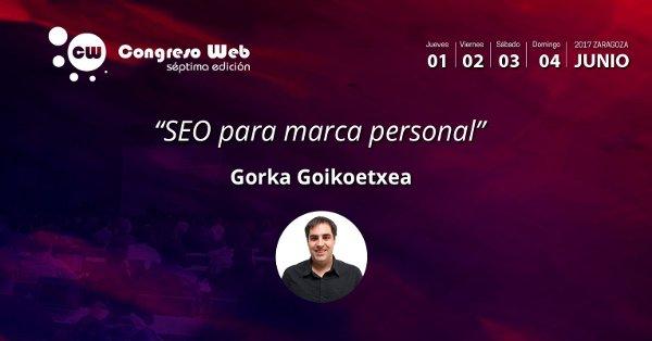 Gorka Goikoetxea. SEO para marca personal
