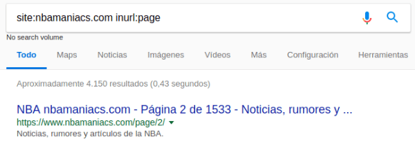 NBAmaniacs paginación