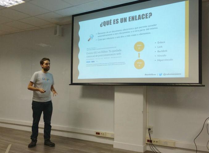 Rubén Fernández explica Linkbuilding