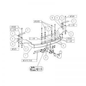 esquema instalacion mecanica