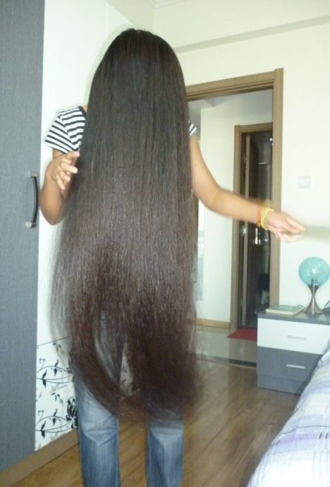 Aidebianyuan Cut Another Knee Length Long Hair NO113