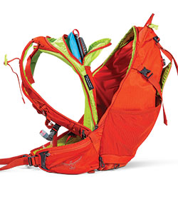 Osprey Hydraulics Hydration Pack Zealot 15 backpanel access