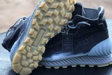 ECCO Exostrike - Dyneema Bonded Leather Boots From the Future 3