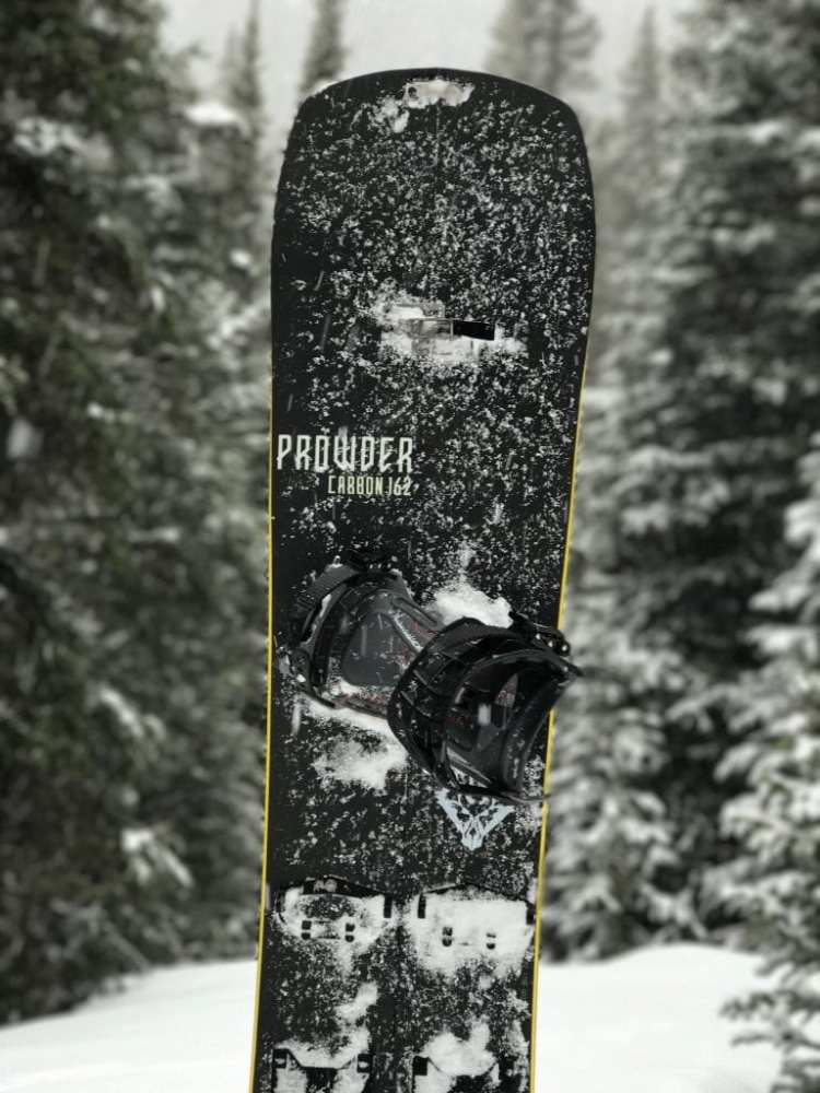 Prowder Carbon - worlds lightest splitboard