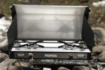 Primus Tupike Car Camping Stove - Classy and Powerful Dual Burner Stove 7