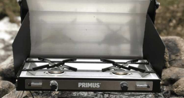 Primus Tupike Car Camping Stove - Classy and Powerful Dual Burner Stove 1