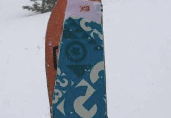 G3 Splitboard + Glide Splitboard Skins - Mohair Mix for Splitboarders 1