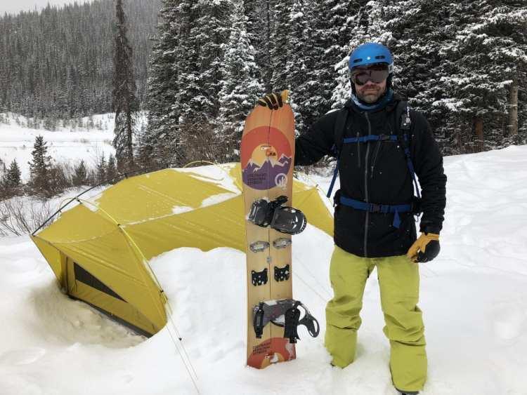 splitboard camping