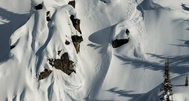 Women's Adventure Film Skier: Nat Segal Location: Selkirk Tangiers HeliSkiing, Selkirk Mountains, BC