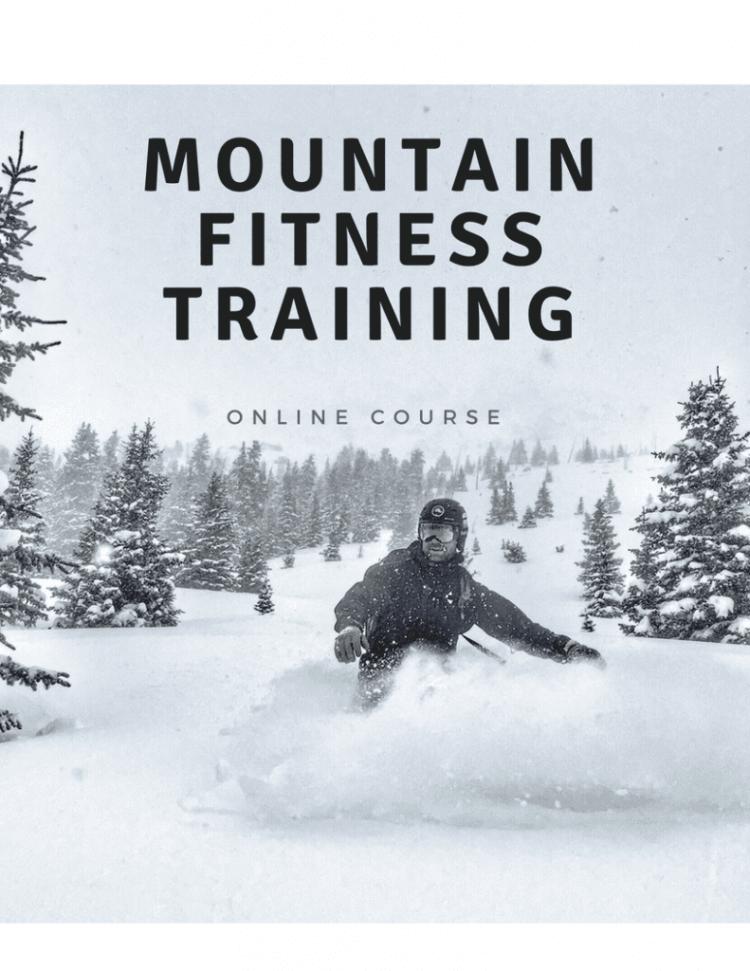 Mountain Fitness Training snowboard
