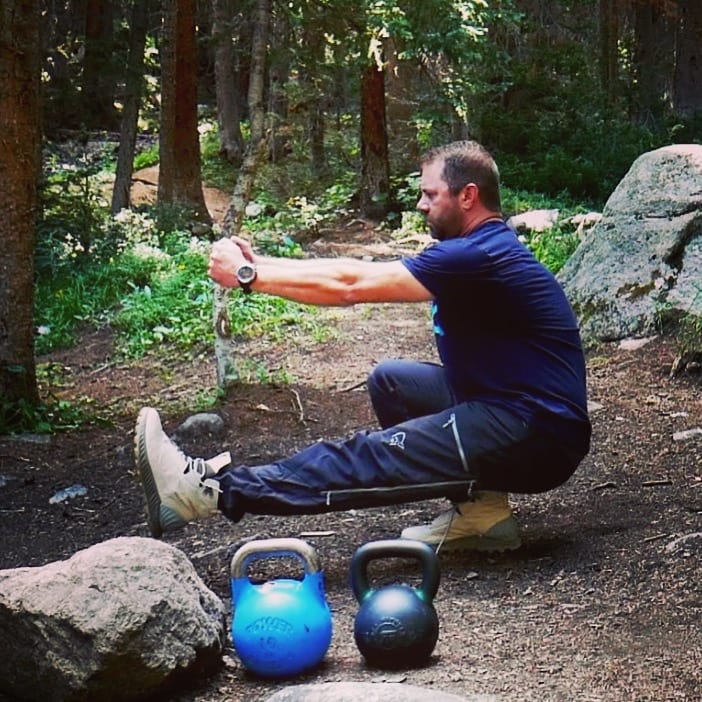 Mountain Fitness Training pistol squat