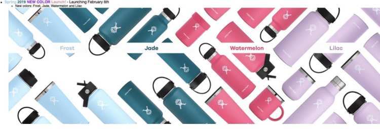 Hydro Flask new colors