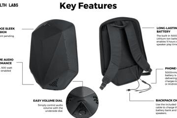 Stealth Labs Speaker Backpack