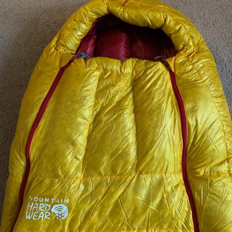 dual zippers on Mountain Hardwear Phantom Alpine Pertex Y-Fuse Engearment.com