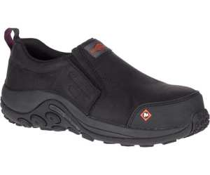 Merrell's Jungle Moc ESD Comp Toe Work Shoe (MSRP $130)
