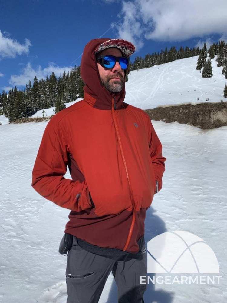 Mountain Hardwear Kor Strata hand pockets