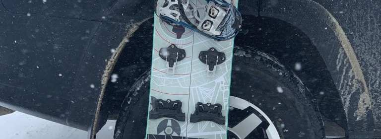 Never Summer Atom Splitboard