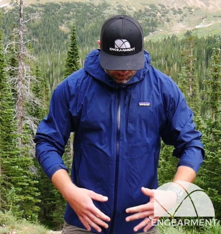 Patagonia Stretch Rainshadow fit