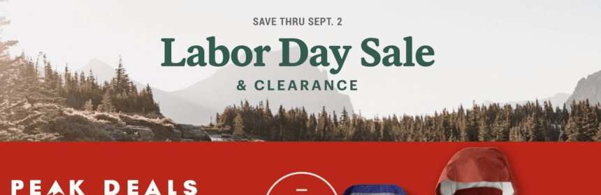 REI Labor Day Sale