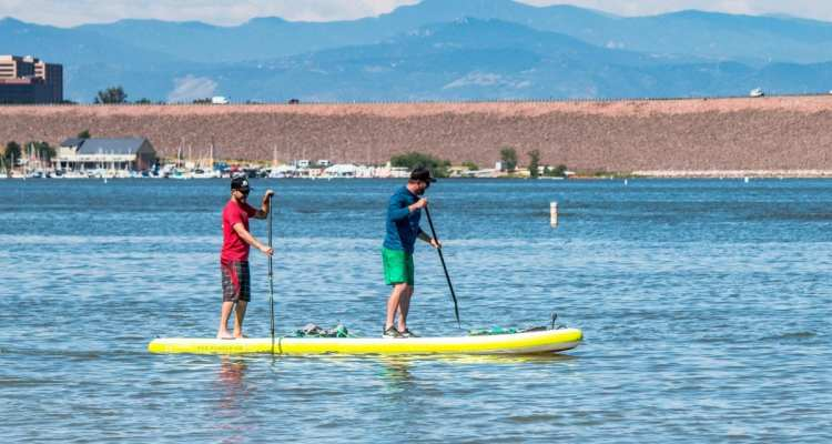 Red Paddle Co Voyager Tandem 15' Paddleboard 1