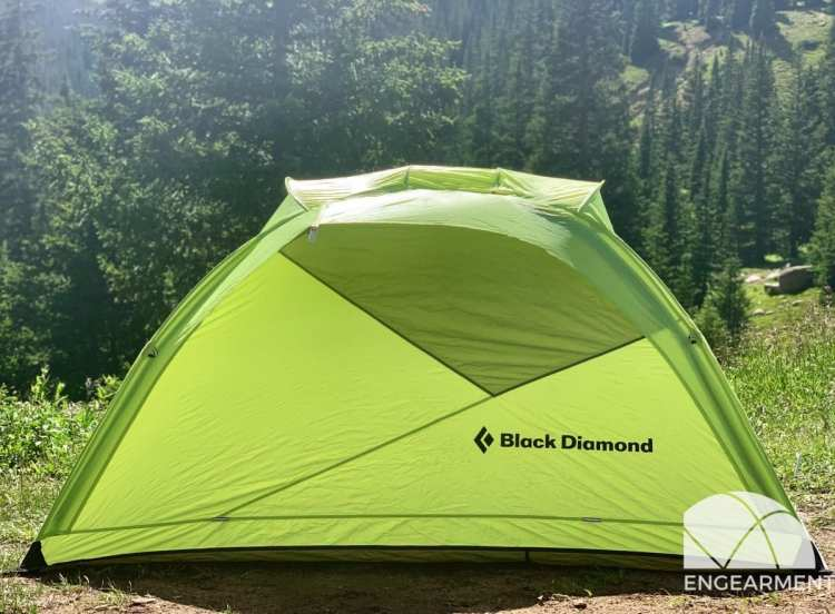 New Black Diamond Hilight Tent Review Engearment.com Huge door / windows on both sides