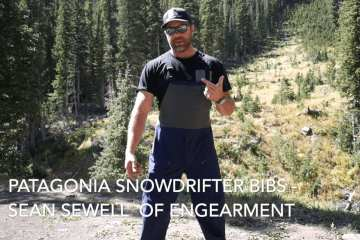 Patagonia SnowDrifter Bibs - Great Complete Snow Coverage 3