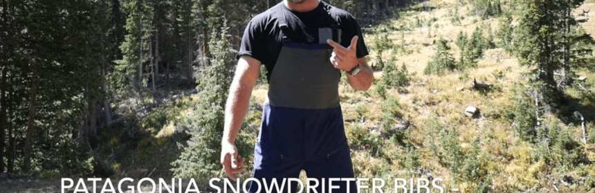 Patagonia SnowDrifter Bibs - Great Complete Snow Coverage 20