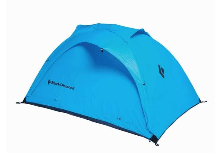 Black Diamond Hilight 3 Tent Review blue tent