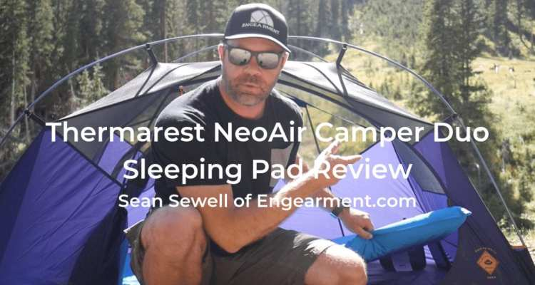Thermarest NeoAir Camper Duo Sleeping Pad - Independent Comfort 1