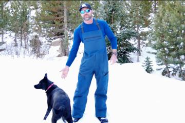Mountain Hardwear Boundary Ridge Bibs Engearment.com Sean Sewell