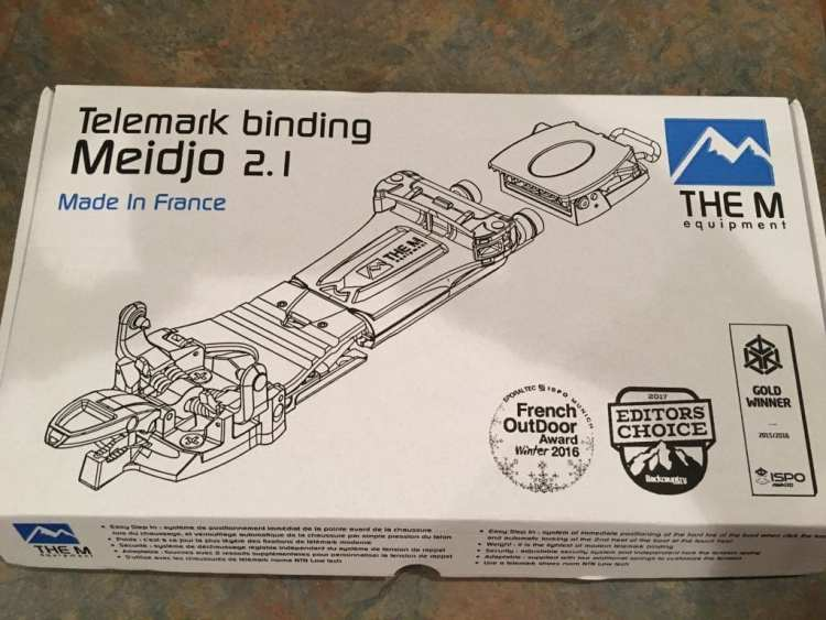 M Equipment Meidjo 2.1 Telemark Binding Review Engearment