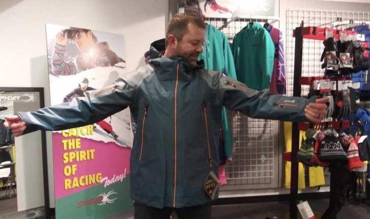 Spyder Eiger GTX Shell Jacket - Bomb Proof Backcountry Ski Jacket 1